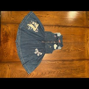 Lovely Soft Denim Dress with Beautiful Stitching
